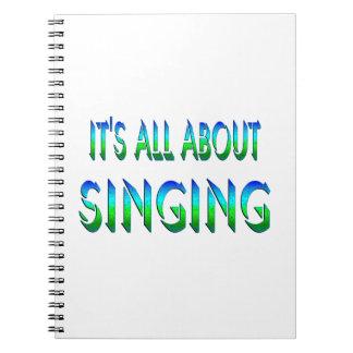 Todo sobre el canto libretas