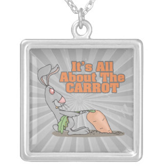 todo sobre el dibujo animado divertido del conejo  colgante cuadrado