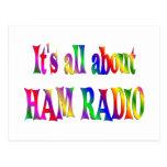 Todo sobre el equipo de radio-aficionado postales