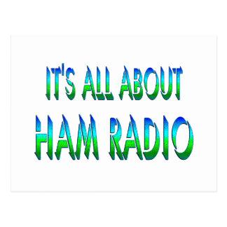 Todo sobre el equipo de radio-aficionado postal