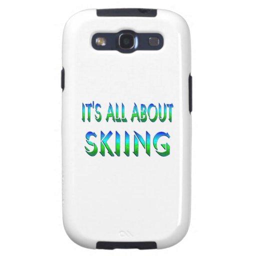 Todo sobre el esquí galaxy SIII coberturas
