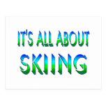 Todo sobre el esquí postal