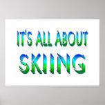 Todo sobre el esquí poster