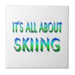 Todo sobre el esquí tejas  ceramicas