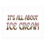 Todo sobre el helado postal