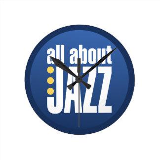 Todo sobre el reloj de pared del jazz