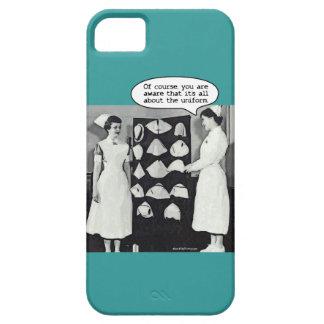 Todo sobre el uniforme de la enfermera iPhone 5 cárcasas