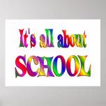 Todo sobre escuela posters