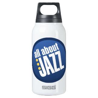Todo sobre jazz botella isotérmica de agua