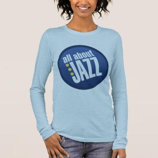 Todo sobre jazz las señoras cupieron la camiseta