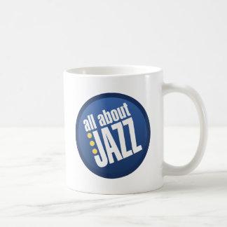 Todo sobre jazz taza de café