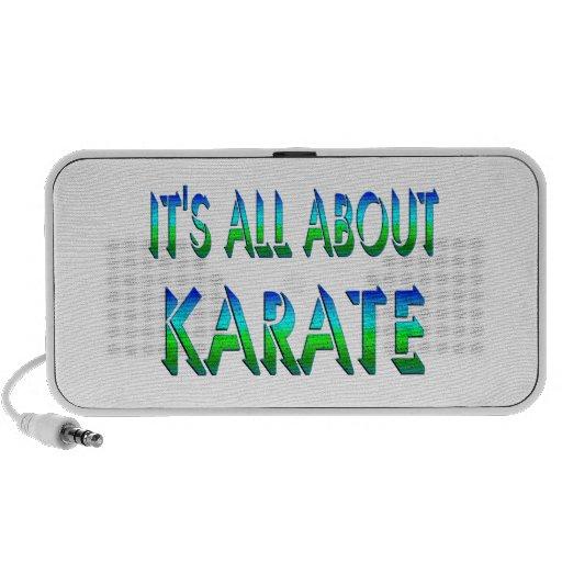 Todo sobre karate iPhone altavoces
