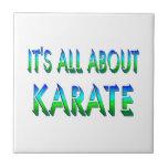 Todo sobre karate teja  ceramica