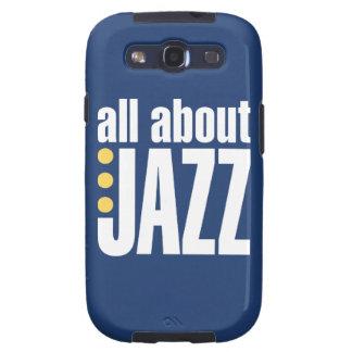 Todo sobre la caja de la galaxia S3 del jazz Samsung Galaxy SIII Funda