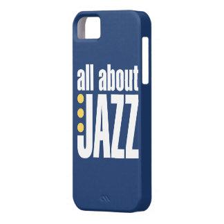 Todo sobre la cubierta del iPhone 5 del jazz Funda Para iPhone SE/5/5s