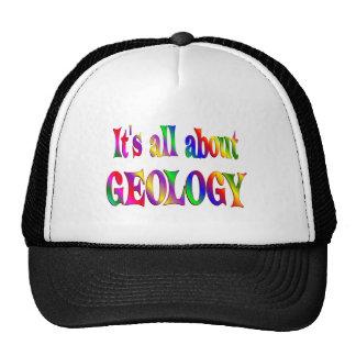 Todo sobre la geología gorras