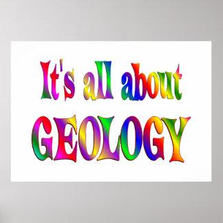 Todo sobre la geología posters