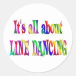 Todo sobre la línea baile etiquetas