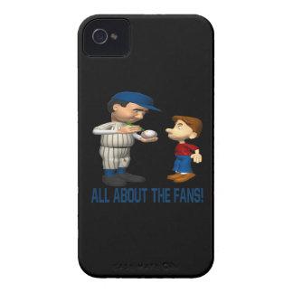 Todo sobre las fans iPhone 4 Case-Mate cárcasa