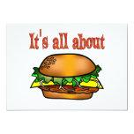 Todo sobre las hamburguesas anuncios personalizados