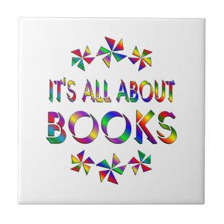 Todo sobre los libros azulejo cuadrado pequeño