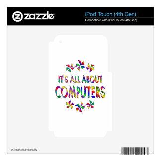 Todo sobre los ordenadores calcomanías para iPod touch 4G