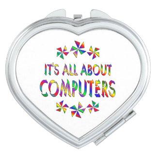 Todo sobre los ordenadores espejo de maquillaje