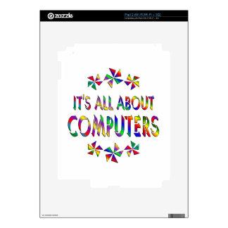 Todo sobre los ordenadores iPad 2 calcomanías