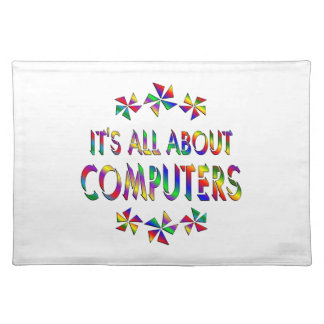 Todo sobre los ordenadores manteles individuales
