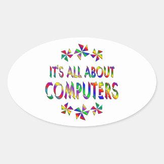 Todo sobre los ordenadores pegatina ovalada