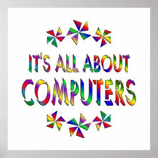 Todo sobre los ordenadores póster