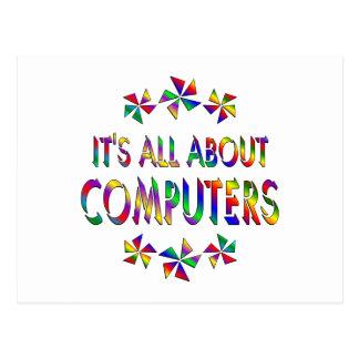 Todo sobre los ordenadores tarjetas postales