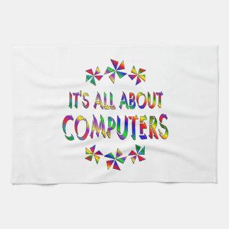 Todo sobre los ordenadores toallas de cocina