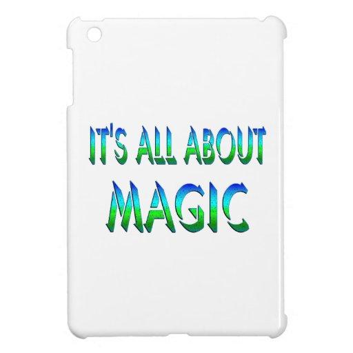 Todo sobre magia iPad mini fundas