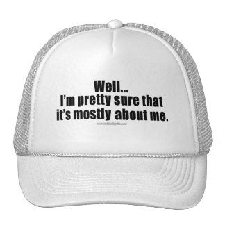 Todo sobre mí… gorras de camionero