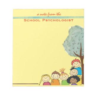 Todo sobre niños-- Cuaderno de notas del psicólogo Bloc De Notas
