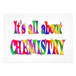Todo sobre química invitación