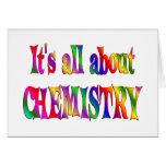 Todo sobre química tarjeta