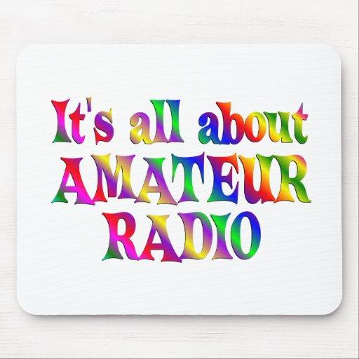 Todo sobre radio aficionada alfombrilla de ratón