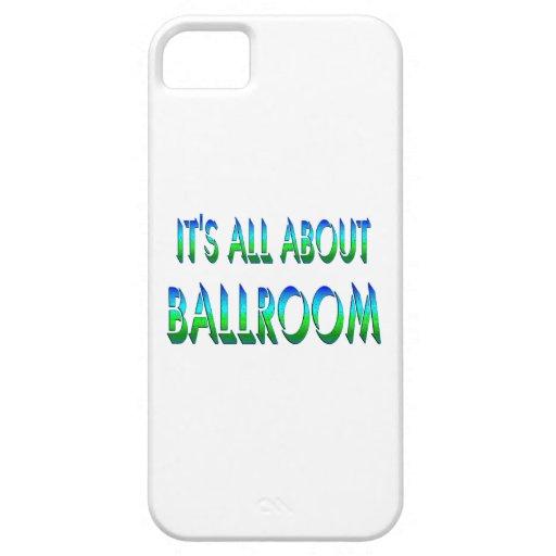 Todo sobre salón de baile funda para iPhone 5 barely there