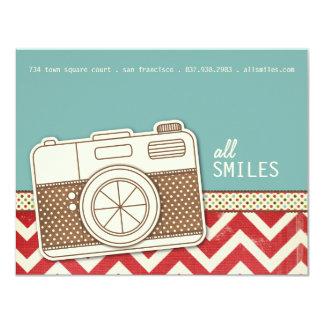 """Todo sonríe las tarjetas de la gratitud invitación 4.25"""" x 5.5"""""""
