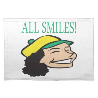Todo sonríe manteles