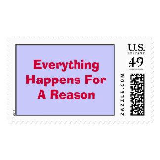 Todo sucede por una razón