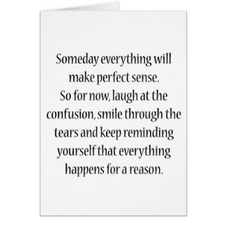 Todo tendrá algún día sentido perfecto felicitaciones