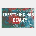 todo tiene belleza rectangular altavoces