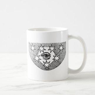 Todo-Ver el ojo Tazas De Café