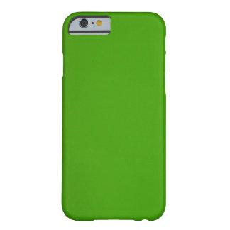 Todo verde funda de iPhone 6 barely there