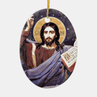 Todopoderoso de Cristo, pintura de Victor Ornato