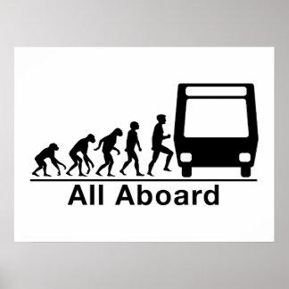 Todos a bordo poster