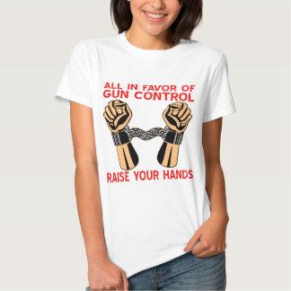 Todos a favor de aumento del control de armas sus polera